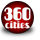 360 cities icon